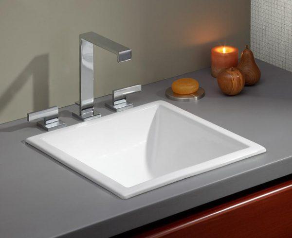 """Cheviot 1179 Dual Mount Sink 16 1/8"""" x 16 1/8"""""""