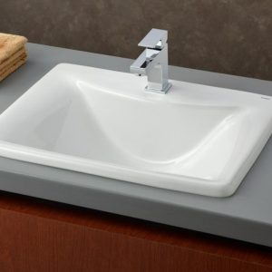 cheviot bali drop in rectangular bathroom sink