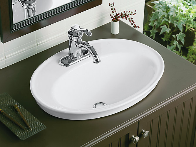 Kohler Drop In Bathroom Sink Wikie Cloud Design Ideas