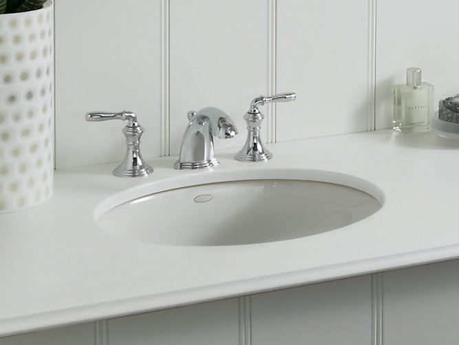 Kohler Caxton 17 Quot Undermount Sink Center Drain Dynasty
