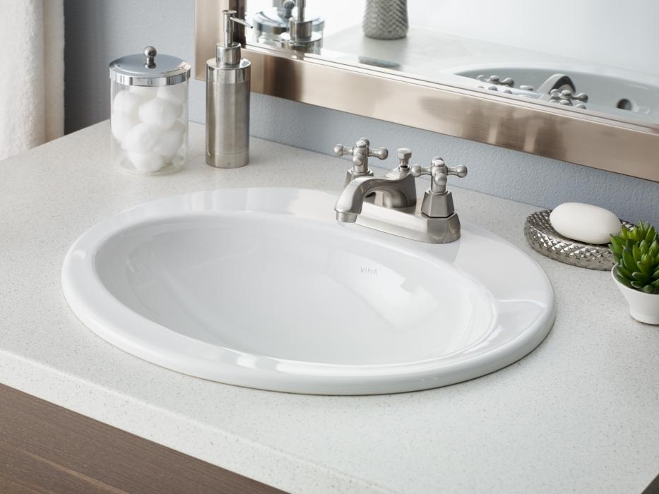 Cheviot Aria Drop In Sink Dynasty Bathrooms