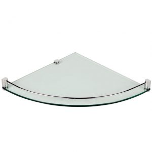 Laloo Corner Glass Shelf