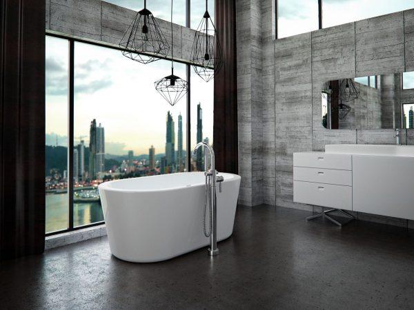 "Neptune Amaze Freestanding bathtub 60"" x 32"" x 23"" AZ3260"