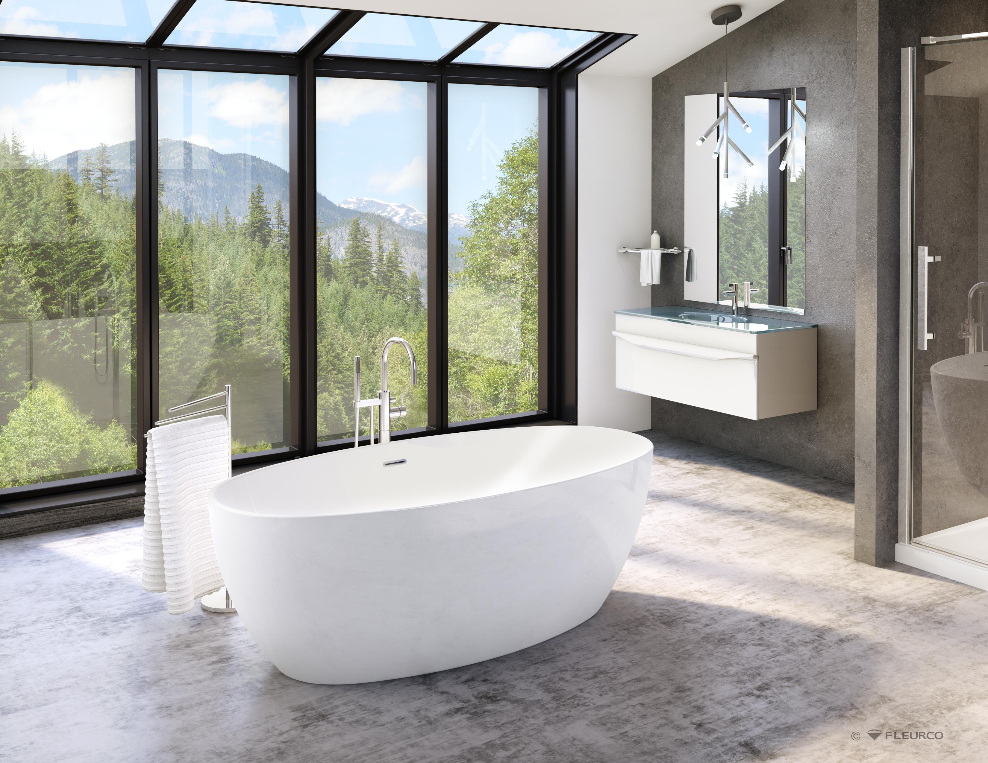 Fleurco Voce Freestanding Tub Dynasty Bathrooms