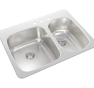 Wessan Top Mount Kitchen Sink