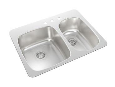 Wessan Top Mount Kitchen Sink