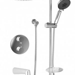 Baril Complete thermostatic shower kit