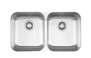 Kindred Double Undermount Kitchen Sink