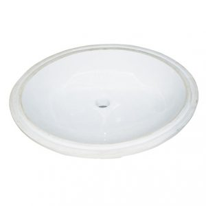 "Fairmont S-100 Round Undermount sink 17"" x 14"""