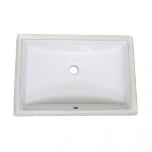 Fairmont S-200WH Rectangular Undermount sink 18-1/8 x 11-1/2 x 6-1/4