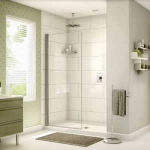 Siena Solo Shower Shield