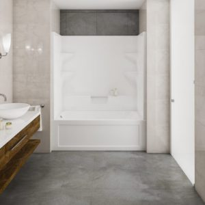 Mirolin Belair 2pc tub shower combo BA32