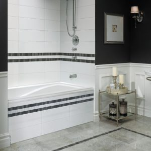 Neptune Delight Drop in Alcove bathtub 3260