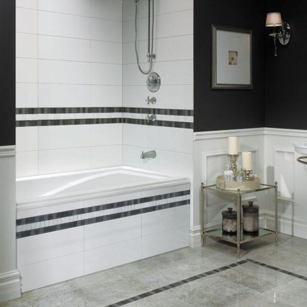 Neptune Delight Drop in Alcove bathtub 3260