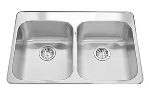 Kindred Top mount kitchen sink