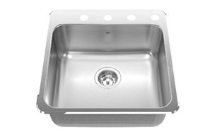 Kindred Single bowl kitchen sink