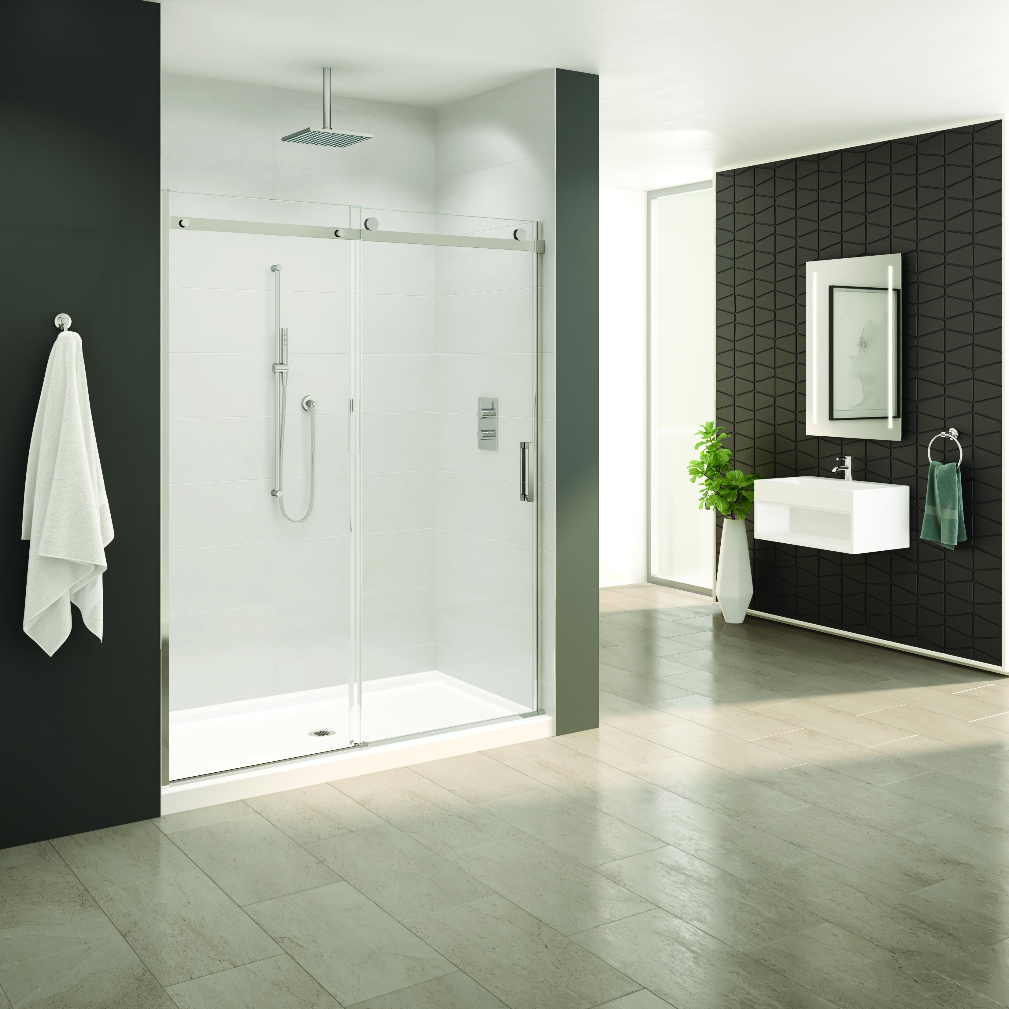 Fleurco Horizon In Line Sliding Shower Door