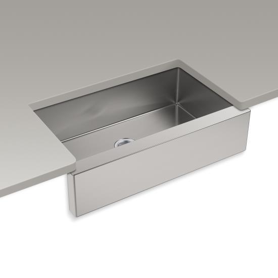 Kohler Strive Self Trimming Undermount Kitchen Sink