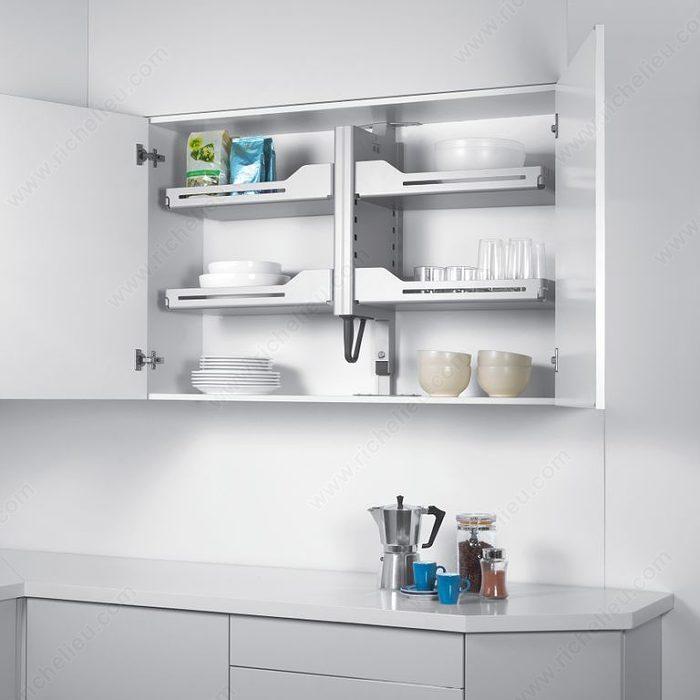 Richelieu Pull Down Kitchen Cabinet Organizer
