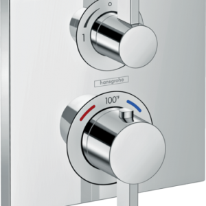 HANSGROHE ECOSTAT SQUARE THERMOSTATIC TRIM