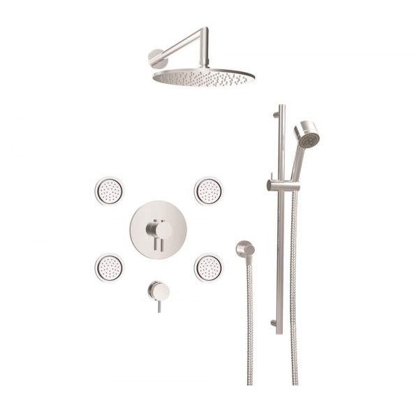 Baril PRO-3902-66-CC Shower set with Jets