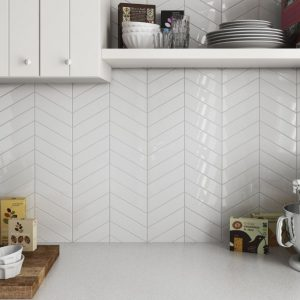 ceratec chevron accent tiles