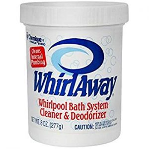 WhirlAway whirlpool bath system cleaner and deodorizer
