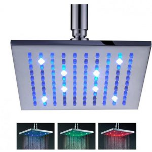 LED rain head