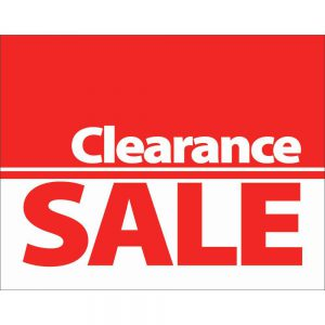 WPG CLEARANCE ITEMS