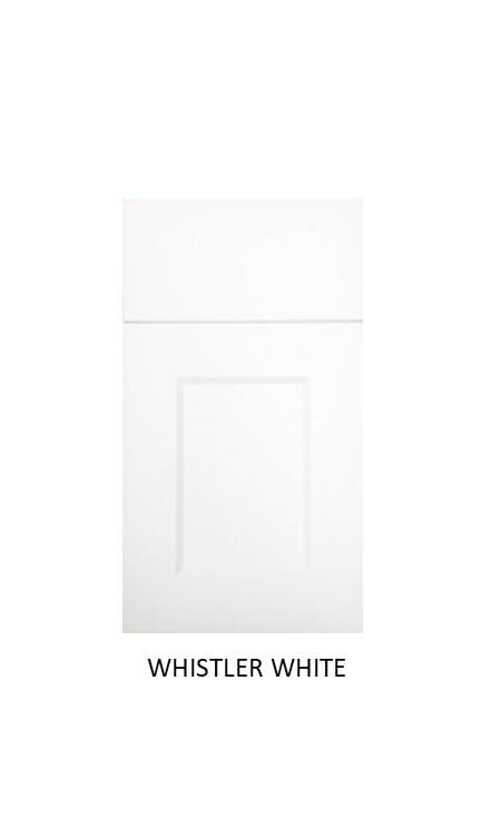 EURO-RITE DOOR WHISTLER WHITE