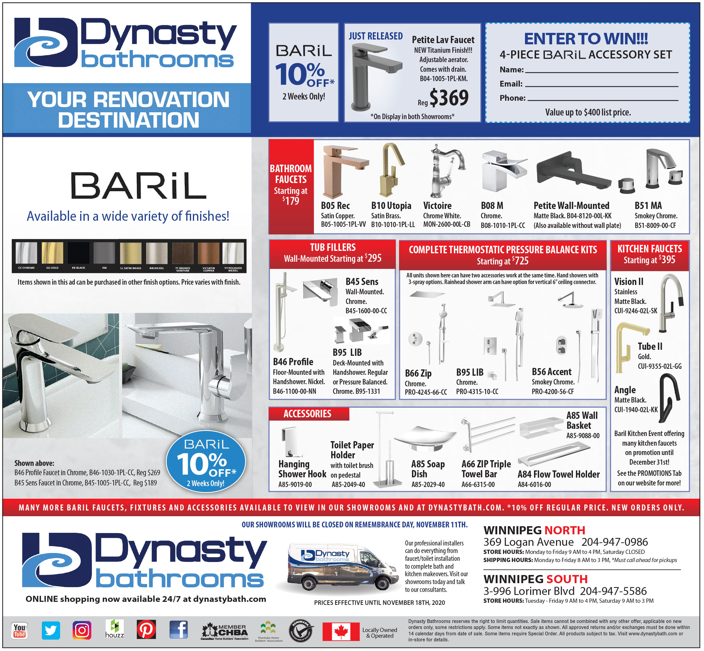 Baril 10% Off Promotional ad