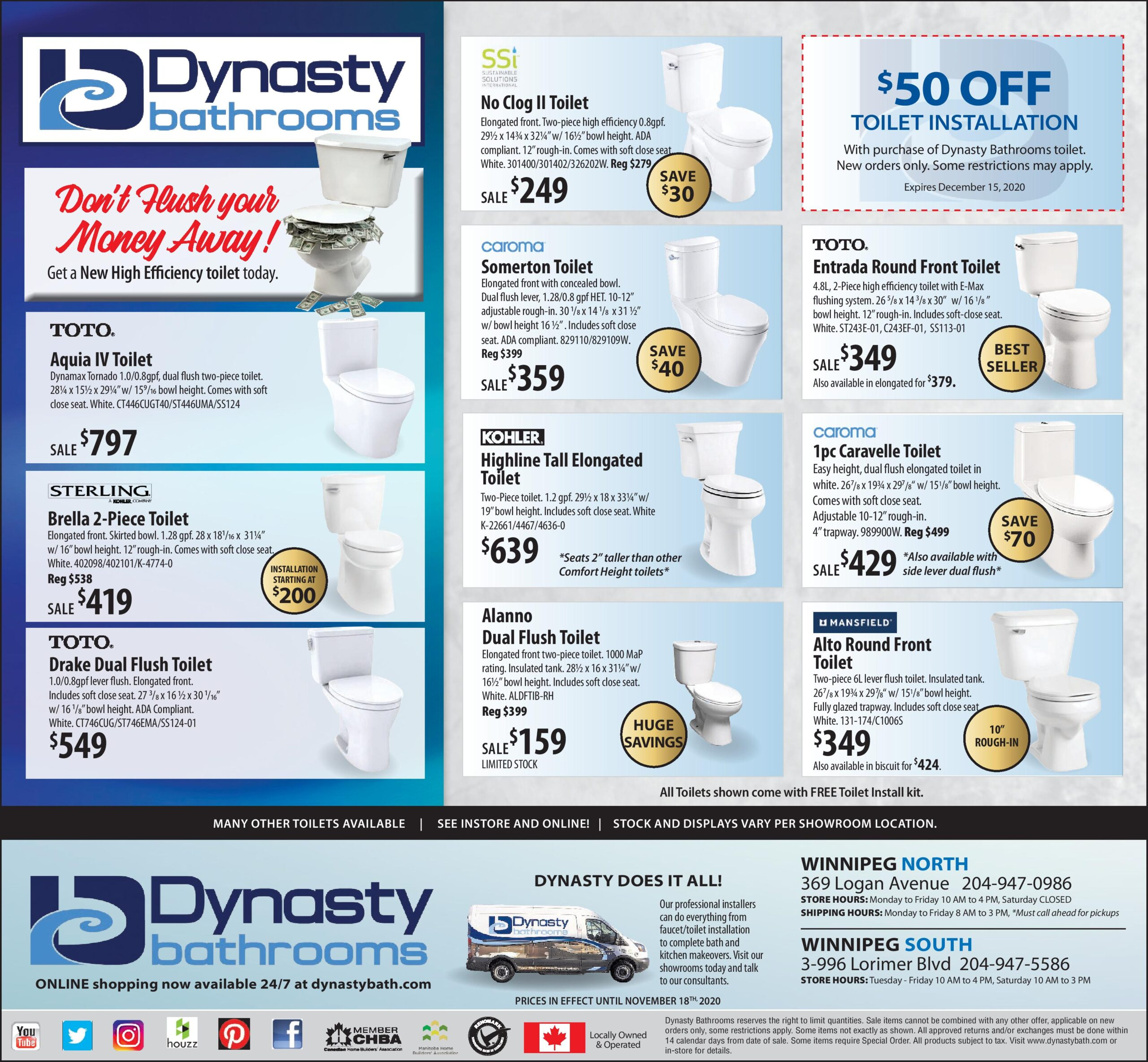 Weekly ad flyer and sale items