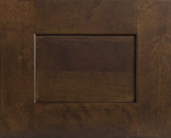 Stonewood Chestnut Shaker Door Front